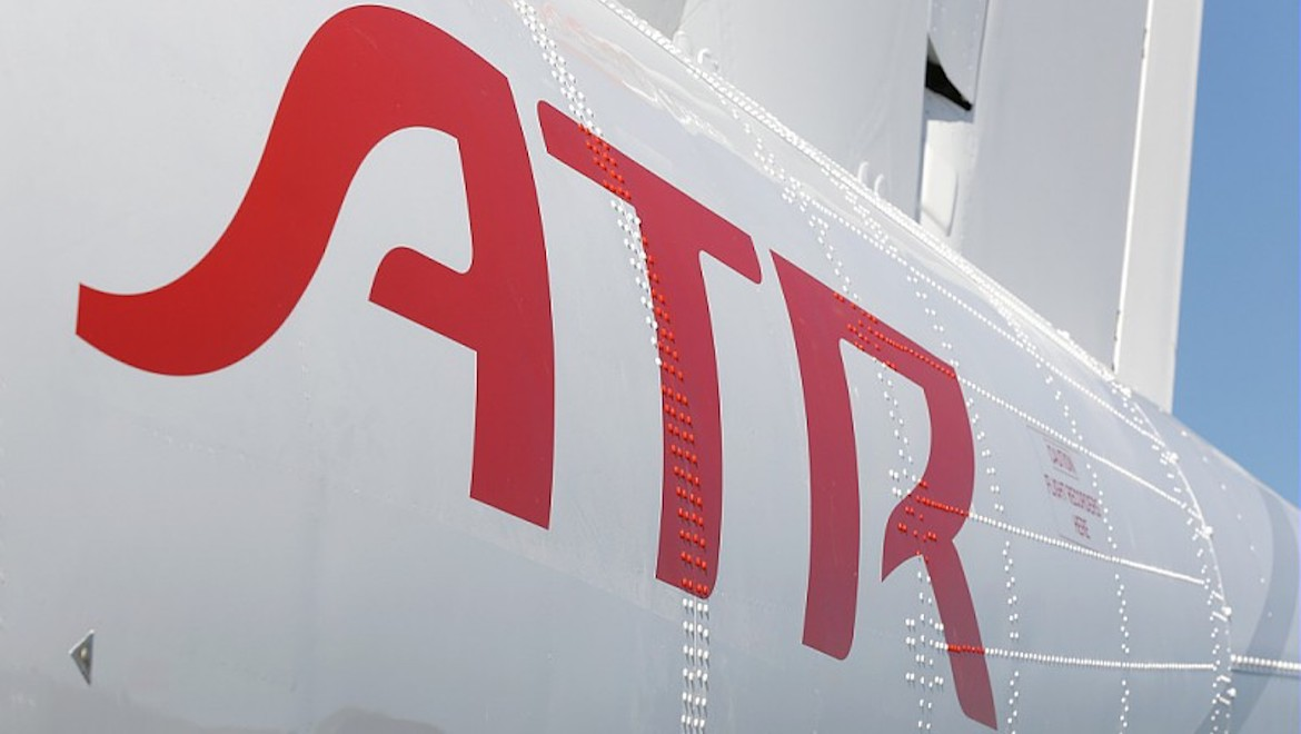 ATR aircraft in the manufacturer's livery. (ATR)
