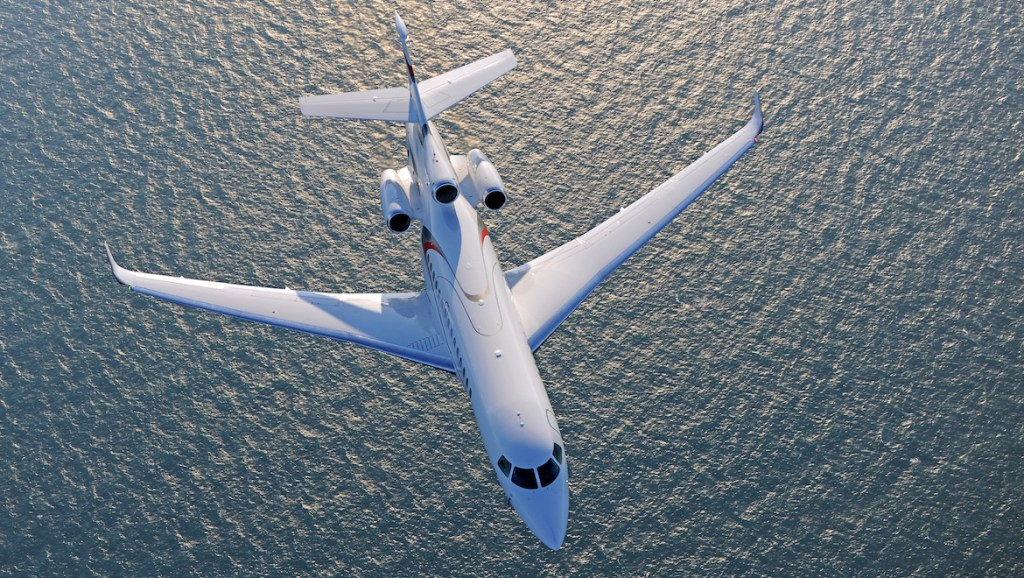 Dassault's Falcon 8X is the French manufacturer's latest and greatest offering. (Dassault)