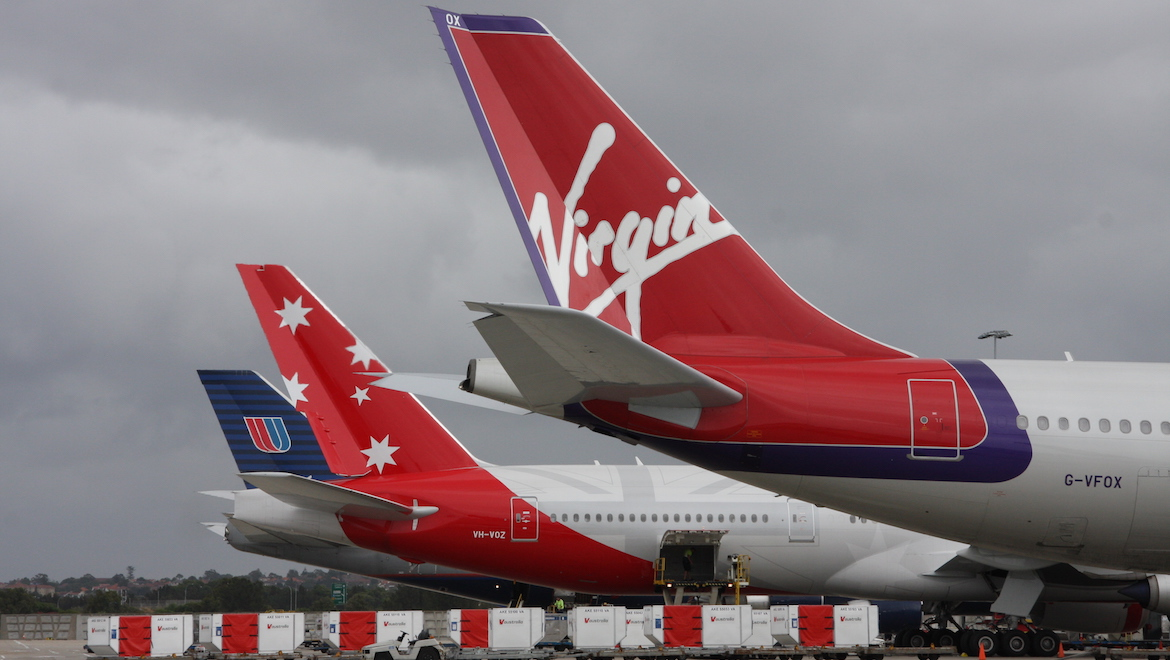 V Australia is challenging United on the Sydney-LA route while working closely with Virgin Atlantic. (Wayne Bradford)
