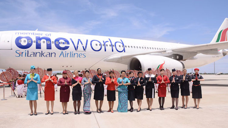 SriLankan Airlines is a oneworld alliance member.(SriLankan Airlines)