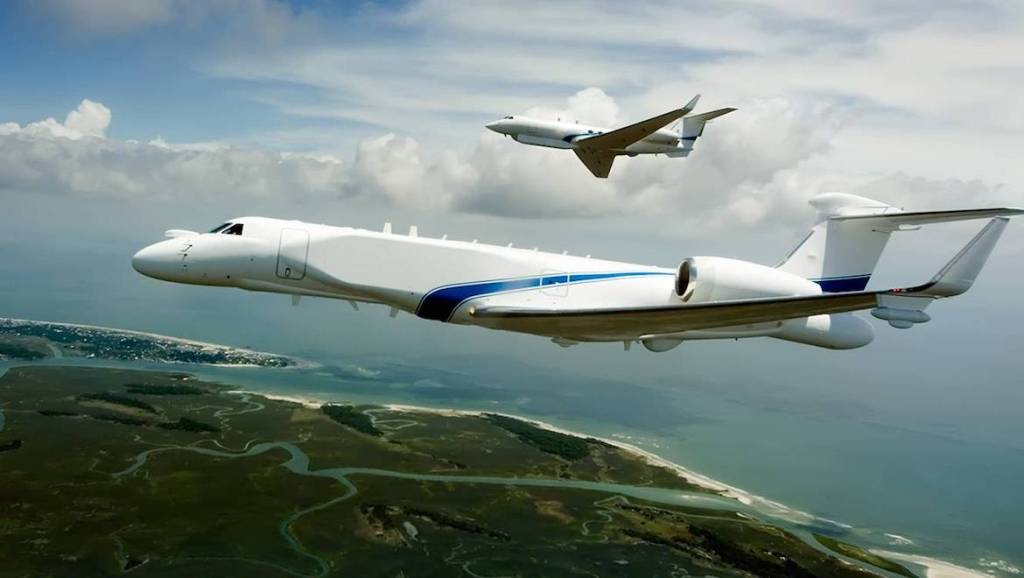 Gulfstream has certified the G550 in several different military special mission variants. (Gulfstream)