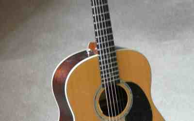 De Gruchy Dreadnought Guitar #585