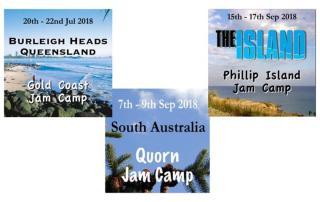 2018 Jam Camps Australia Jam Camps
