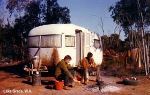 Old caravan
