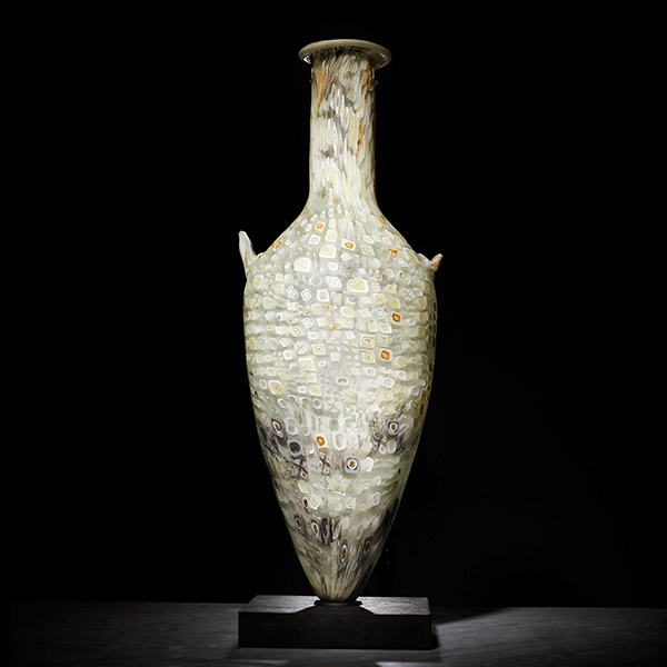 Ancient amphora by Elaine Miles