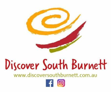 Discover South Burnett LOGO with social media