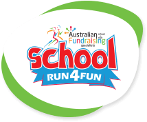School Fun Run Fundraiser Logo