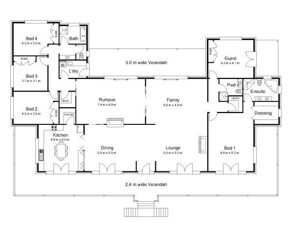 5 Bedroom Country House Plans Australia | Savae.org