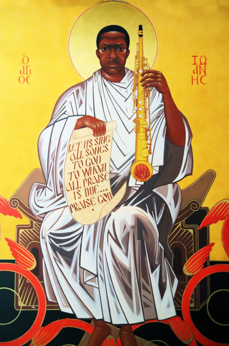 A Love Supreme: the Gospel according to John Coltrane
