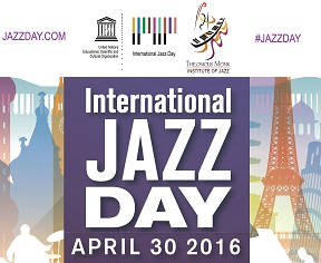 Saturday 30 April: Save the date for International Jazz Day