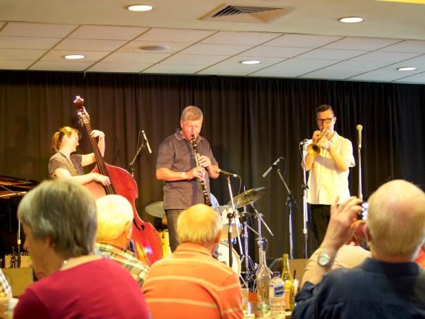 Tamara Murphy with Denis and Eugene Ball | Photo: Kaye Blum