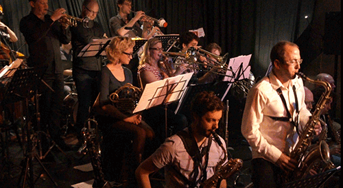 Kinetic Jazz Orchestra at 505 | picture by Saha Jones