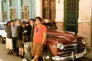 Paul Van Ross_and band_Havana 2013