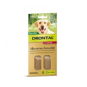 Drontal allwormer chewable