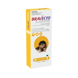 bravecto very small dog