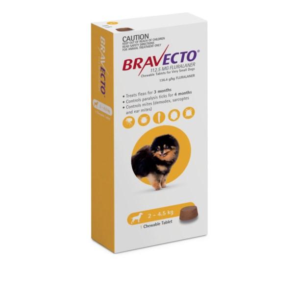 Bravecto Chew Very Small Dog