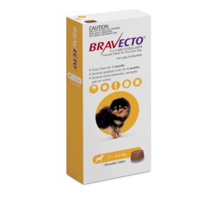 Bravecto Chew Very Small Dog