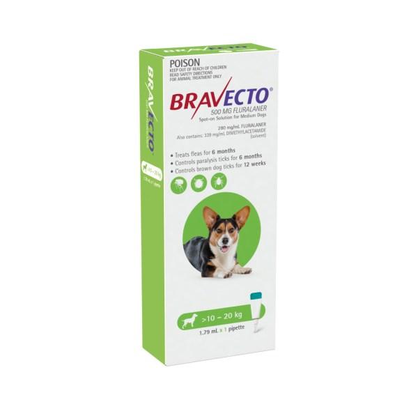 Bravecto Spot-on Medium Dog