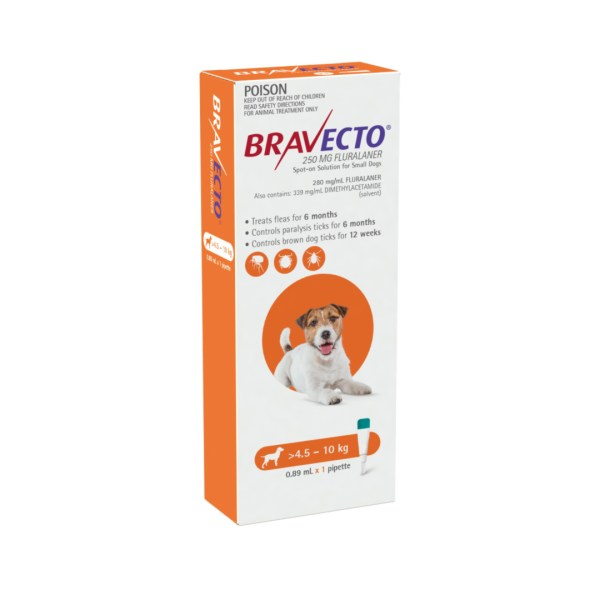 Bravecto Spot-on Small Dog