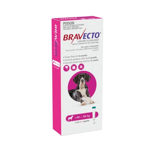 Bravecto Spot-on XLarge Dog