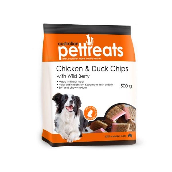 Chicken & Duck Chips 500g