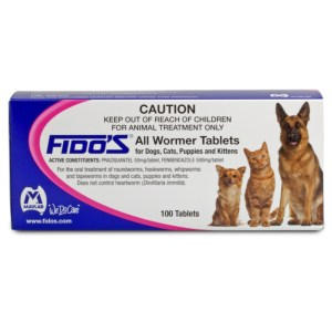 Fido's All Wormer Tablets