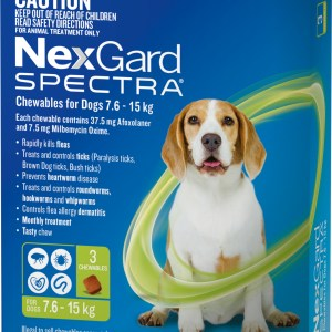 Nexgard Spectra Medium Dog