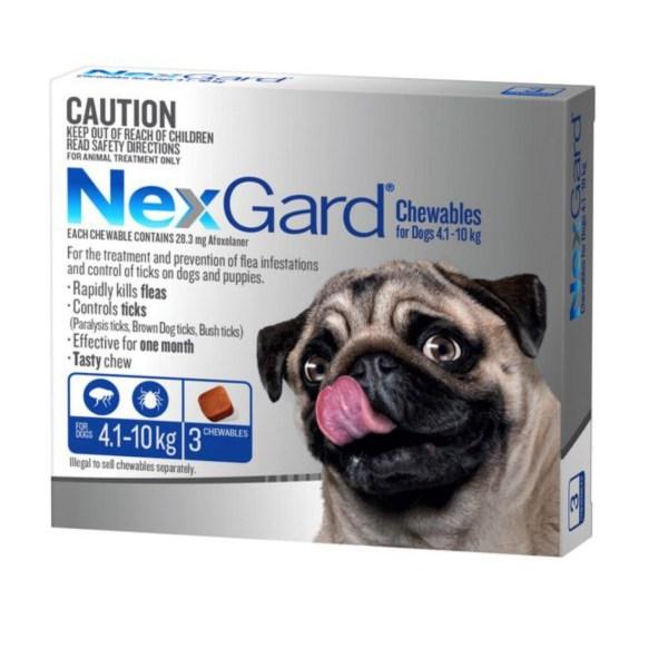 Nexgard Medium Dog 3 Pk