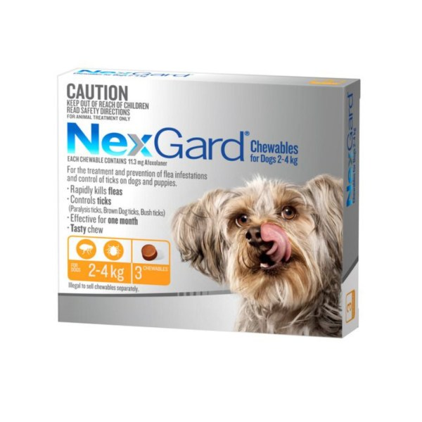 Nexgard Small Dog 3 Pk