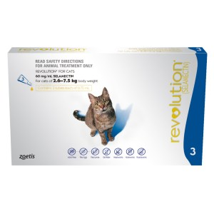 Revolution Cat Blue 3 Pack