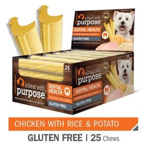 Evolution Chicken with Rice & Potato Dental Chews