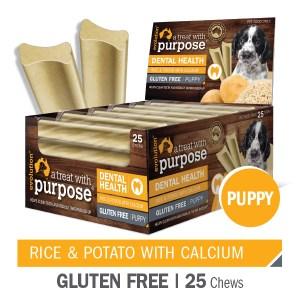 "Evolution Rice & Potato with Calcium ""PUPPY"" Dental Chews"