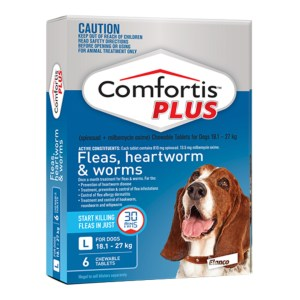 Comfortis PLUS Large Dog 6 Pack