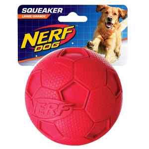 Nerf Soccer Ball Squeak