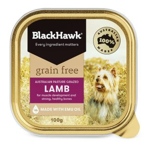 Black Hawk Grain Free Lamb 100g
