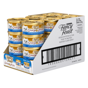 Fancy Feast Gravy Lovers Ocean Whitefish & Tuna side