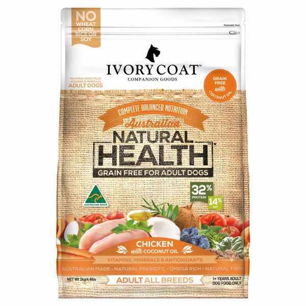 Ivory Coat Adult Chicken with Coconut Oil 2kg