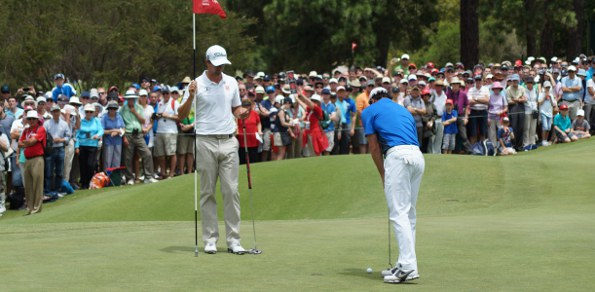 The 1st was maybe a caddie holiday hole in the final round at Royal Sydney Golf Club