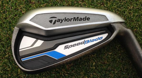 The winner: the TaylorMade SpeedBlade irons