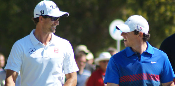 Adam Scott and Rory McIlroy fought out the 2013 Australian Open at Royal Sydney