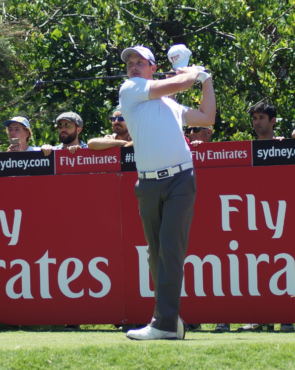 Geoff Drakeford in his first tournament as a pro at the Australian Open on the weekend