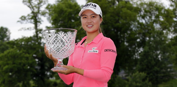 Minjee Lee trophy 595