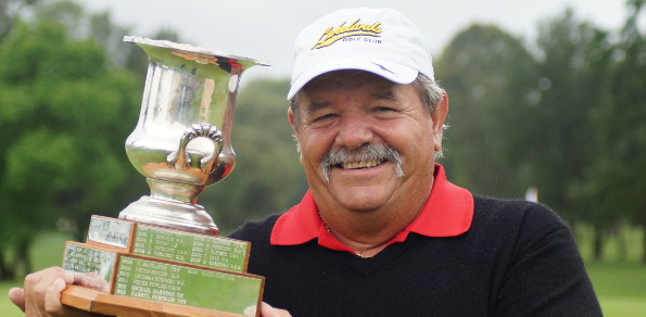 Rodger Davis won the championship for the first time in his long career last year at Richmond Golf Club