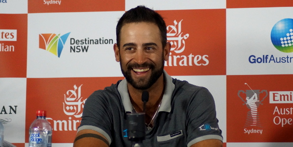 James Nitties off the couch and leading the Australian Open after the 2nd Round at Royal Sydney