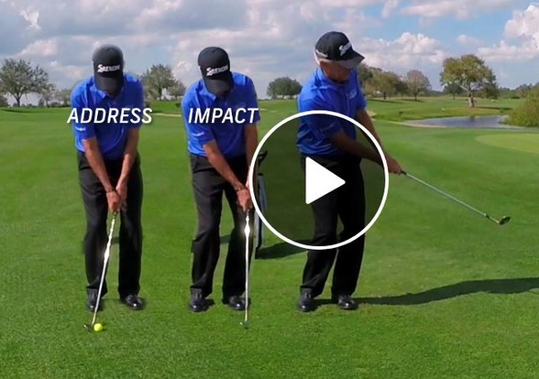 Larry Mize shows how to hit a Masters winning chip shot
