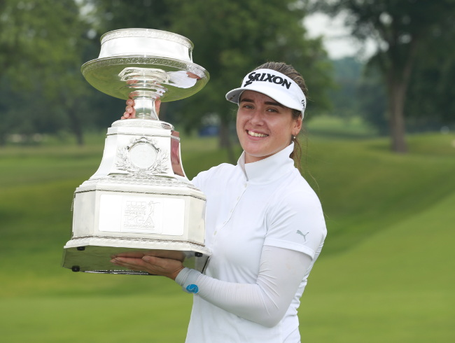 Hannah Green: Australia's surprise new major golf champion