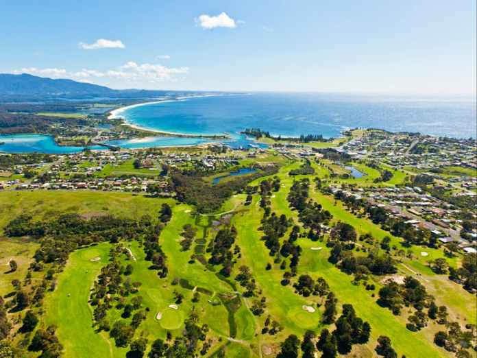 Larry Canning: PGA Legends take on beautiful Bermagui