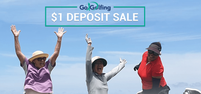 Book a great golfing holiday for just $1 deposit … and the chance to win a $25,000 South African golfing safari