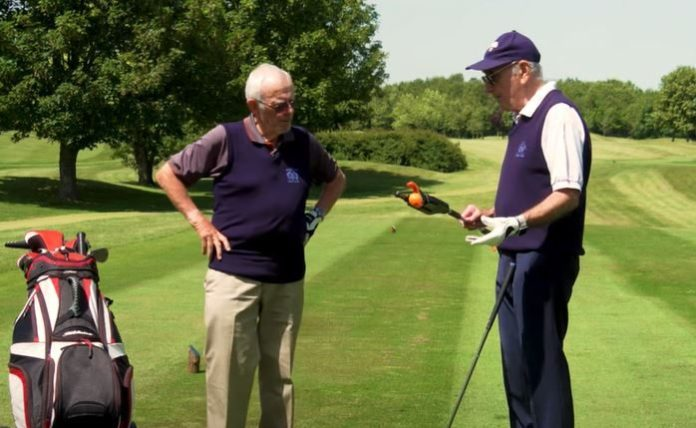 """Specialist """"zero bend"""" products to keep older golfers on course and pain free"""