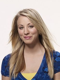 Penny (Kaley Cuoco) Picture: wikipedia.org